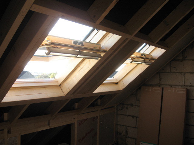 How to prepare your loft for a model railway loft for Velux glass